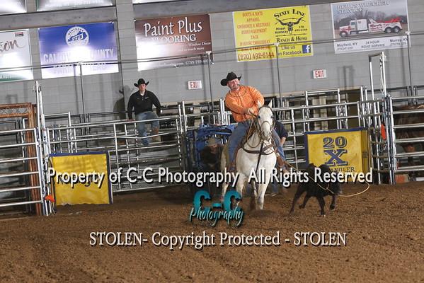 Calf Roping 1/9/15 Murray KY