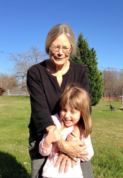 Grandma Maggie and Lizzie