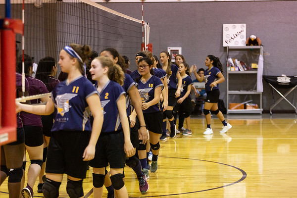 2018 Middle School girl's volleyball