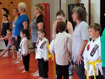1805 PD Mother's Day Hapkido