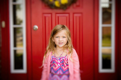 Ada Cain - First Day of School for 4 year old Preschool