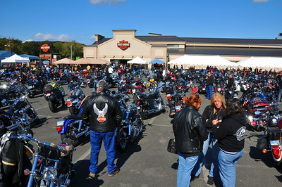 "2009 HARLEY-DAVIDSON/BUELL OF DANBURY ""BIKETOBERFEST"", OCTOBER 11, 2009"