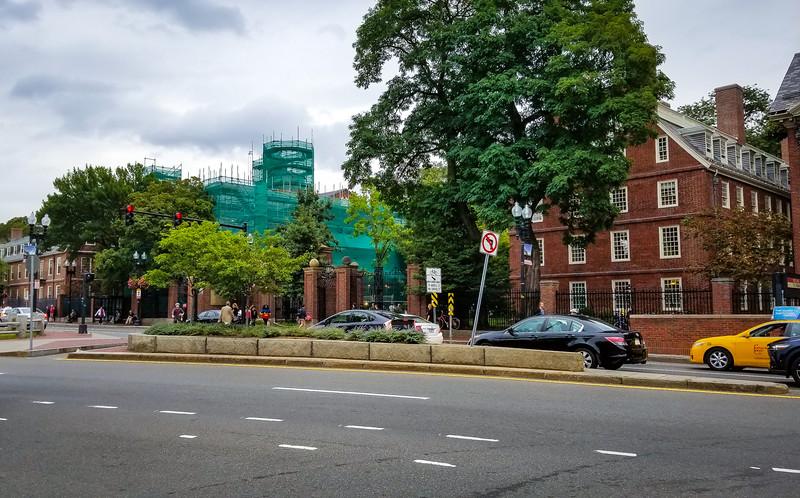 Harvard Square, Under Construction