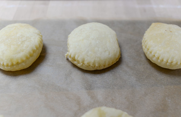 Partially baked puffs
