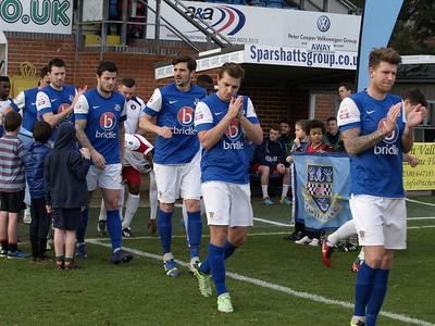 Eastleigh (3) v Ebbsfleet United (1) 25.1.2014