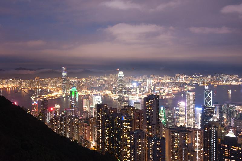 Hong Kong Lights (long exposure)