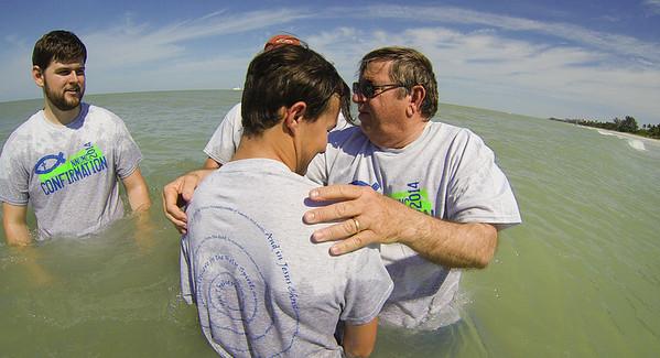 2014 Beach Baptism