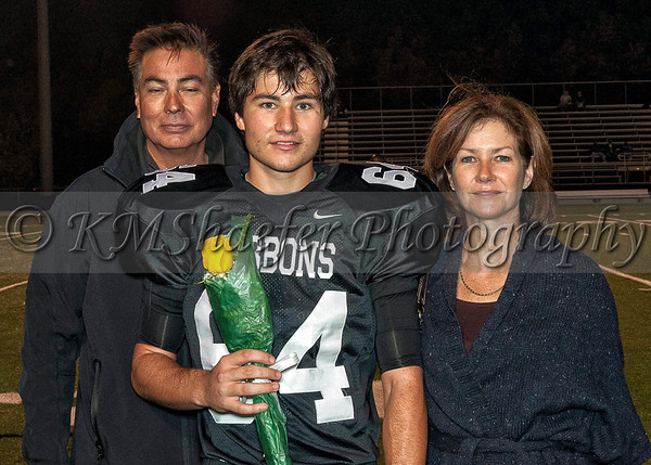 2012 Senior Night Football Parents