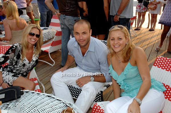 Leah Summerville, Anthony G., and Katie Thomakowski