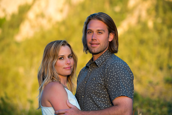 Engagement Photography in Little Cottonwood Canyon