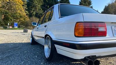 1991 E30 BMW