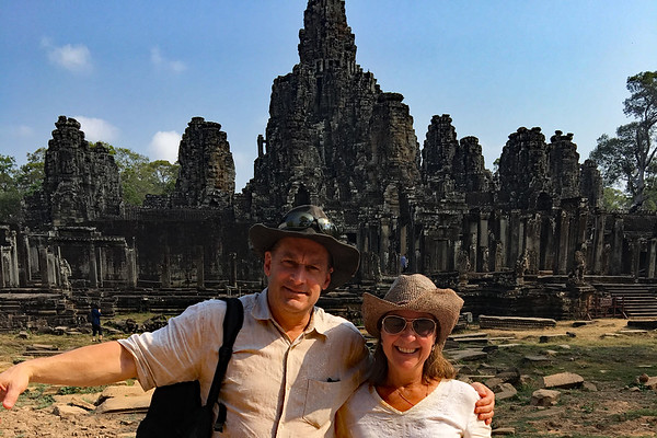 3-11-17 Bayon Temple in Cambodia