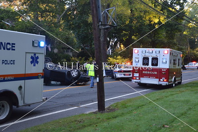 20130930 - Locust Valley - Overturned Auto