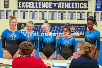 Gymnastics: Tuscarora 5-school meet 12.21.2017 (By Jeff Scudder)