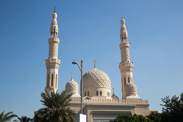 Jumeirah Mosque, Dubai - January, 2016