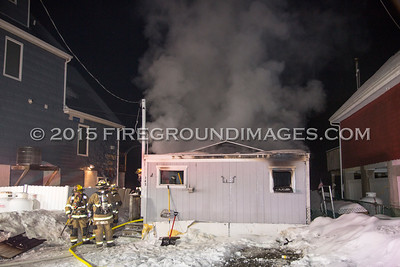 Indian Well Rd. Fire #2 (Shelton, CT) 2/22/15