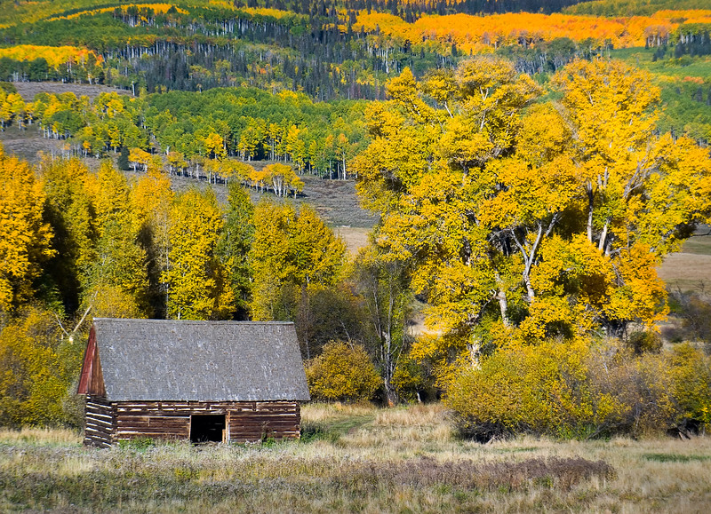 Ohio Creek Road, Colorado, USA