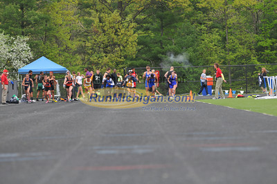 100M Finals - 2013 MHSAA T&F D1 Regional at Brandon HS