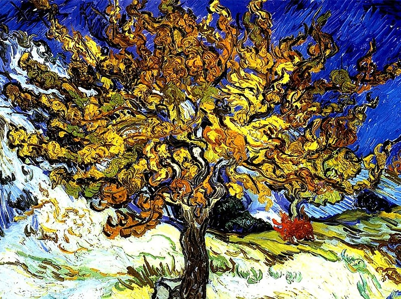 Vincent van Gogh - The Mulberry Tree - John Brody Photography --- JohnBrody.com