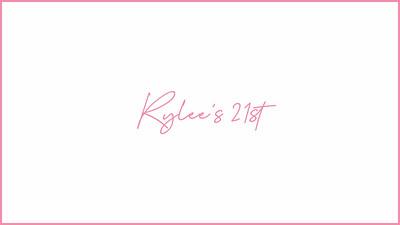 25.09 Rylee's 21st