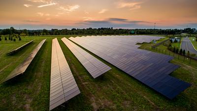 Solar panel installation W1 June 2019