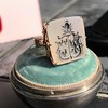 'Pineapple Family Crest' Chalcedony Ring, by Seal & Scribe 24