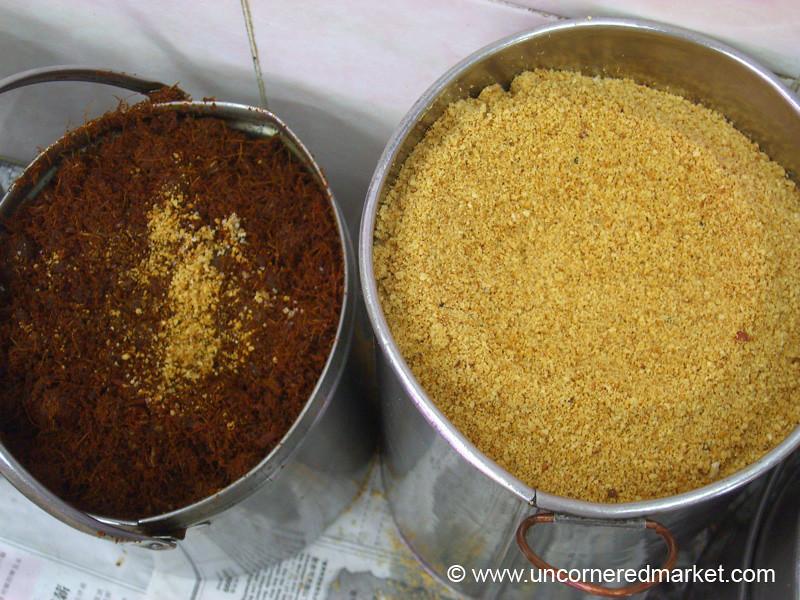 Malaysian Food, Satay Ingredients - Melaka, Malaysia