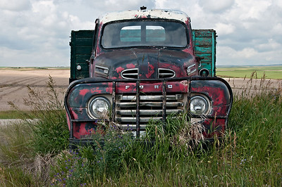 Old  Trucks, Cars,  and Machinery