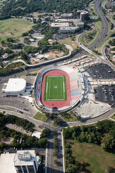 09/23/2014 093640 -- San Antonio, TX -- © Copyright 2014 Mark C. Greenberg  Alamo Stadium