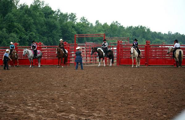 Class 45 Western Open Equitation
