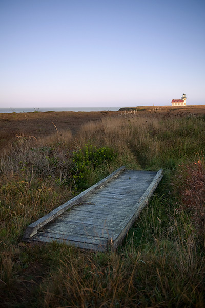 Foot Bridge, Point Cabrillo Lighthouse