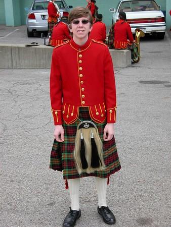 Kiltie Band Homecoming 2005