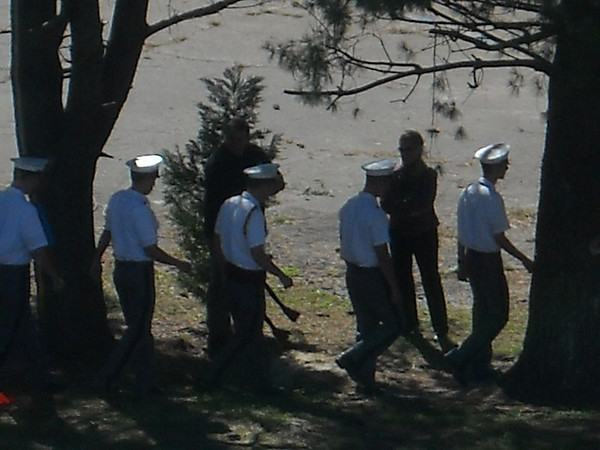 Barracks Groundbreaking Ceremony