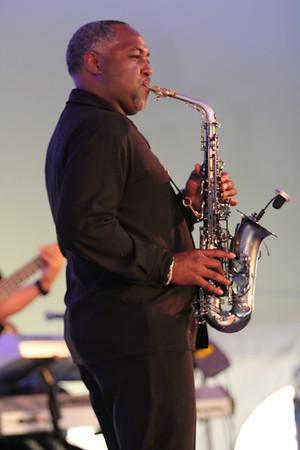 2013 Dauphin County Wine and Jazz Festival - Art Sherrod Jr. & Motown Show 9-7-13