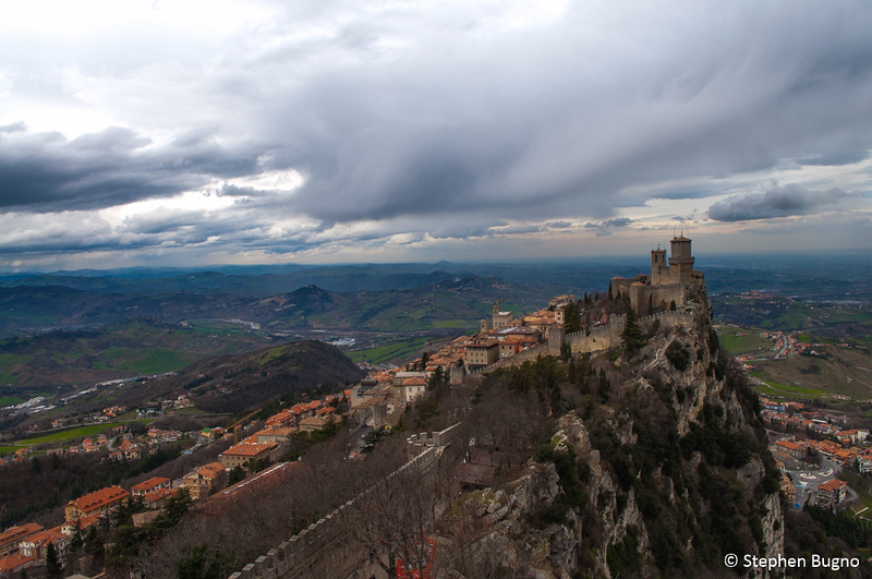 The first watchtower of San Marino
