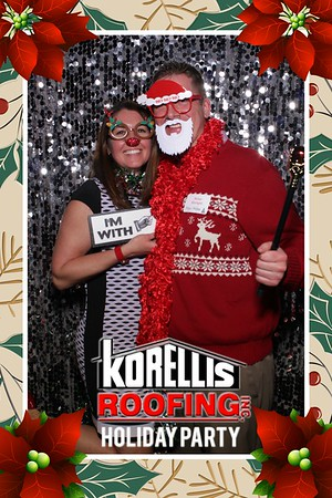 Korellis Roofing Holiday Party Mirror Booth 2018