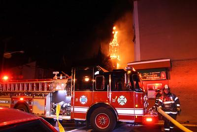 Union City 2 Multiple alarm Fires 3-4-17