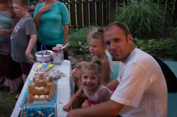 Alea's and My Birthday 2015