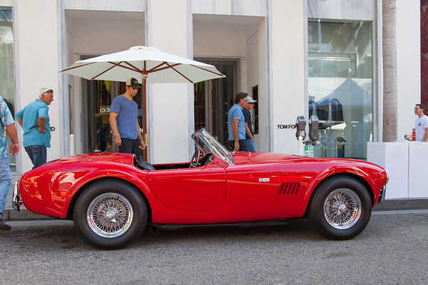 Rodeo Drive Concours d'Elegance 2017