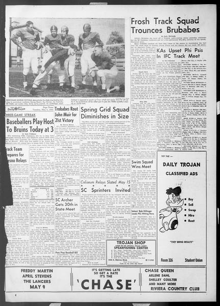 Daily Trojan, Vol. 44, No. 125, May 05, 1953