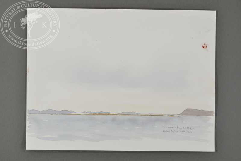 1300 meter west of Midtøya (E), Svalbard | 10.9.2016. | Måns Sjöberg.