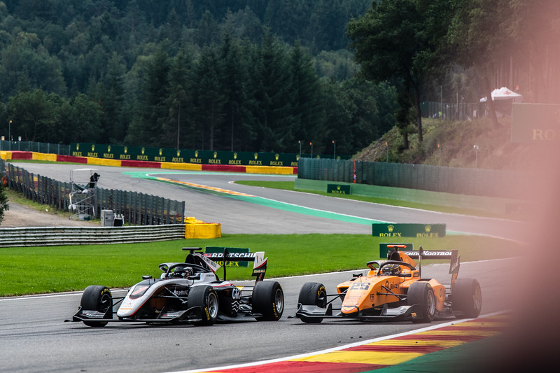 #1 David Beckmann, ART and #25 Sebastian Fernandez, Campos Racing, Belgium, 2019