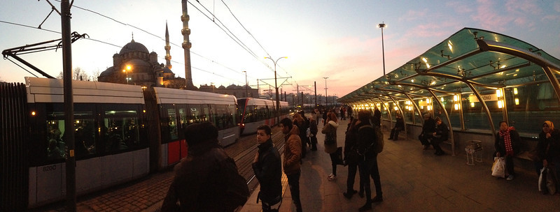 Tram Stop, Istanbul
