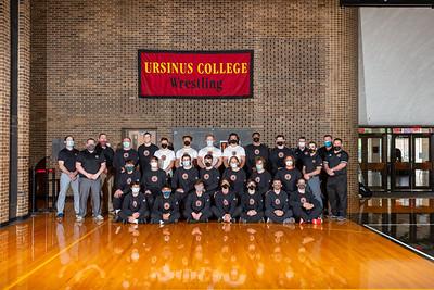 UC Wrestling Team 2021