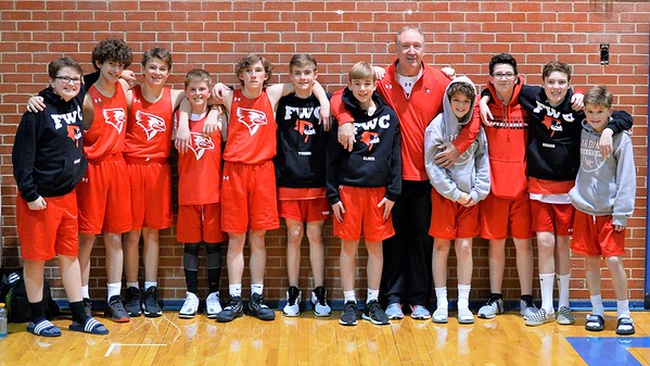 FWC Basketball MS 7th 2/6/2020