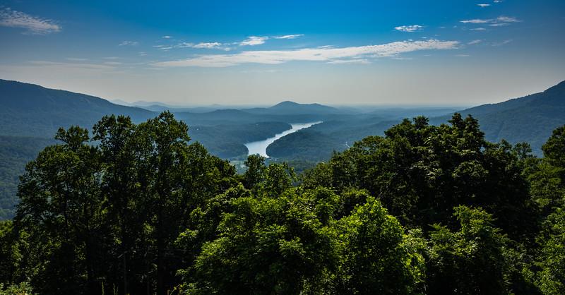 Chimney Rock & Hickory Nut Falls, North Carolina - 2021