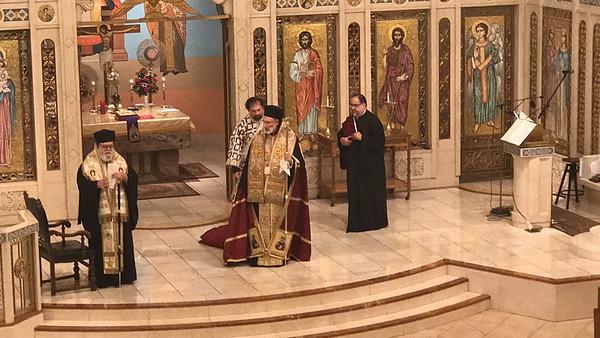 Community Life - Triumph of Orthodoxy Vespers - February 25, 2018