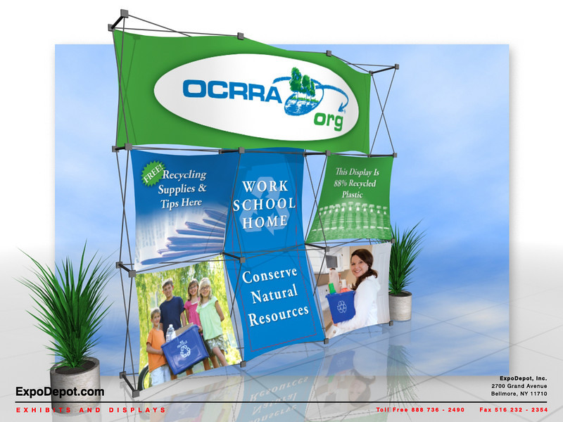 OCRRA, Xpressions 3x3 XSNAP Rendering http://expodepot.com/xpressions-stretch-fabric-c-293.html?osCsid=2b414ddc96f36e6a145b58f408e97835