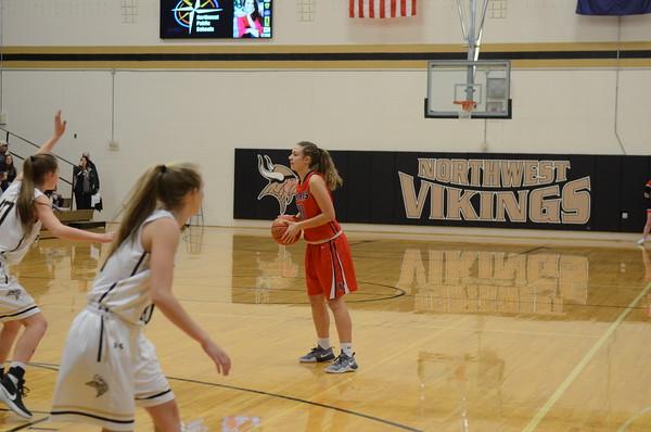 Varsity Girls Basketball vs Northwest