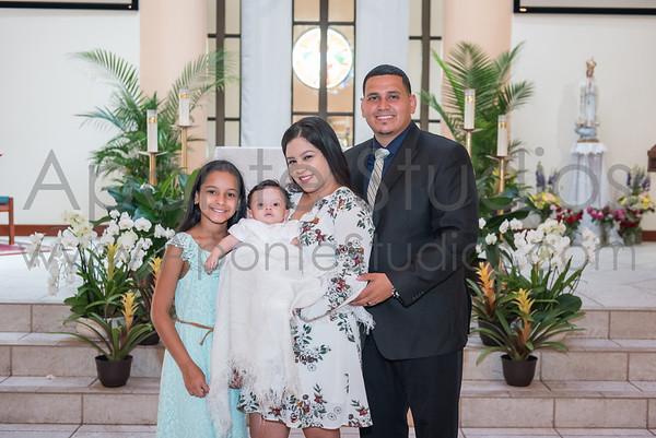 Ulate family baptism